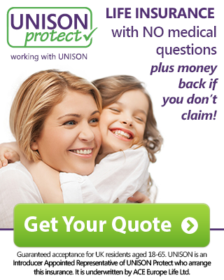 UNISONprotect - life insurance with NO medical questions